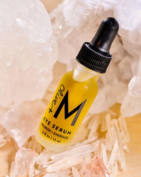 Olive + M Eye Serum, 0.5 oz./ 15 mL