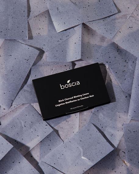 boscia Black Charcoal Blotting Linens, 100 Sheets