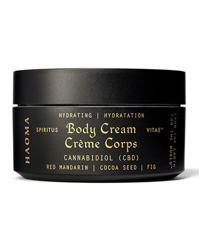 Hydrating Body Cream with CBD  6.3 oz. / 180 g