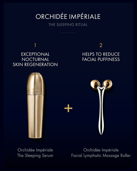 Guerlain Exclusive Orchidee Imperiale Facial Lymphatic Massage Roller