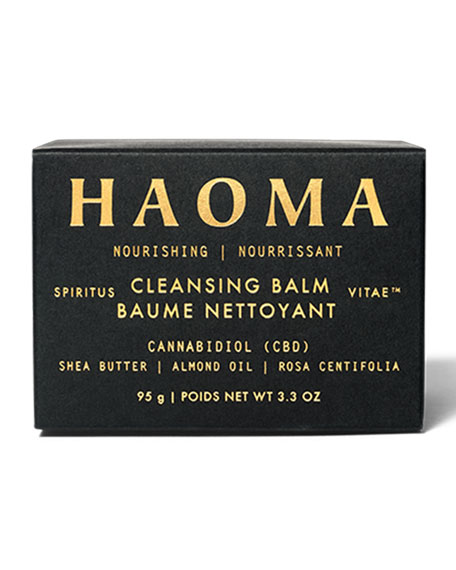 Image 2 of 3: Haoma 3.3 oz. Nourishing Cleansing Balm with CBD