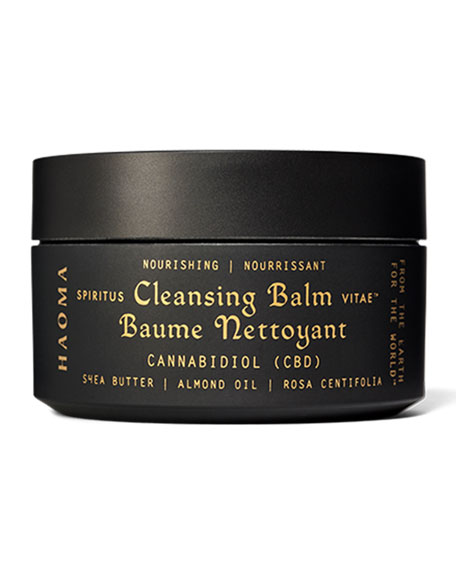 Image 1 of 3: Haoma 3.3 oz. Nourishing Cleansing Balm with CBD