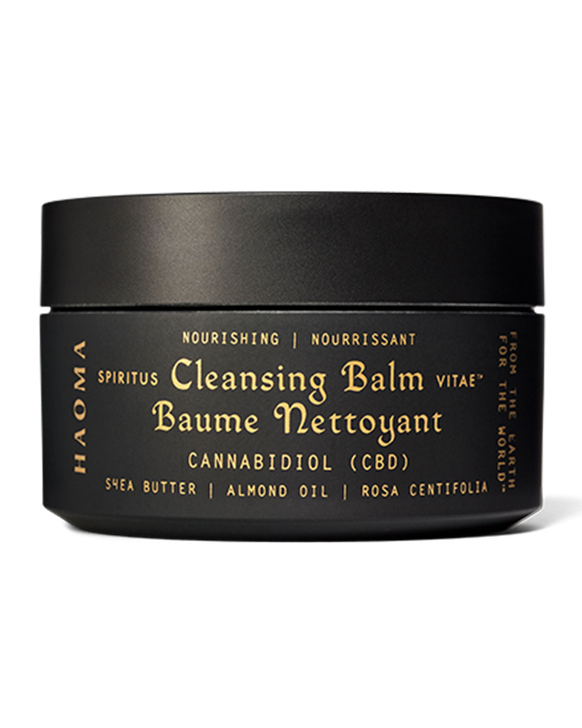Haoma 3.3 oz. Nourishing Cleansing Balm with CBD