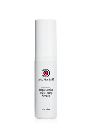 January Labs 1 oz. Triple Active Reclaiming Serum