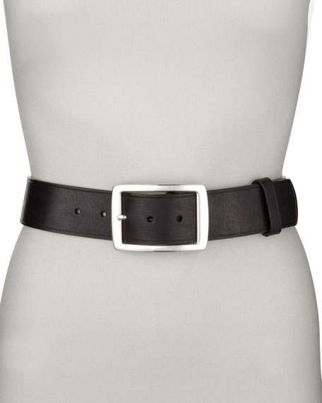 Contour Jean Belt, Black