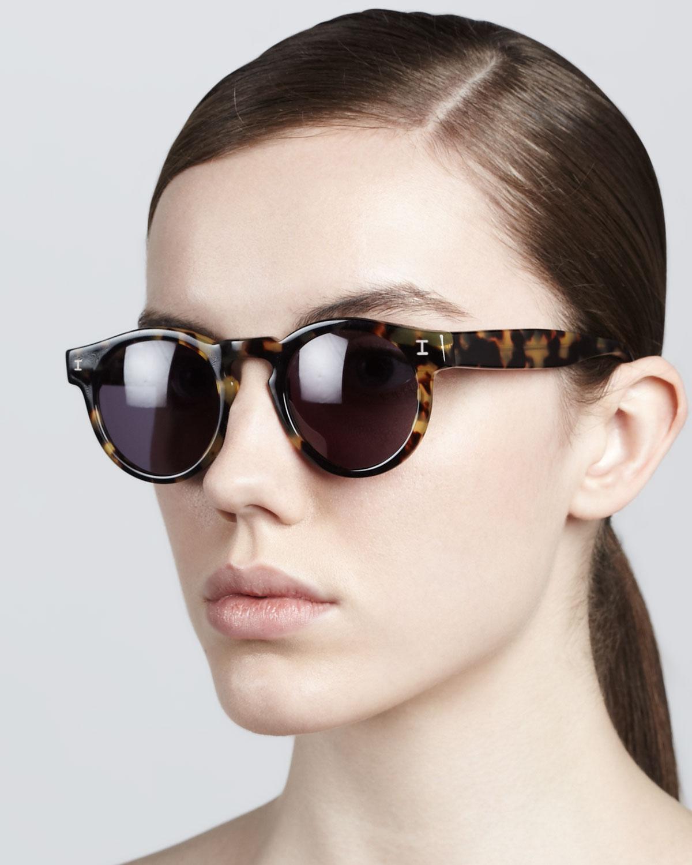 8e4ffc112d3 Illesteva Leonard Round Sunglasses
