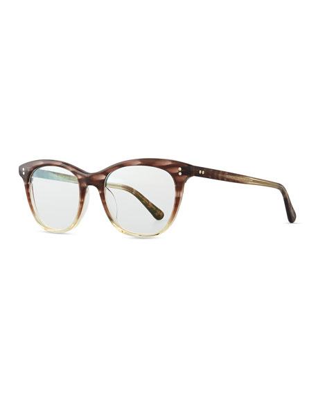 Oliver PeoplesJardinette Acetate Fashion Glasses, Henna