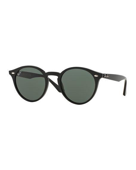 Ray-Ban Round Plastic Sunglasses   Neiman Marcus