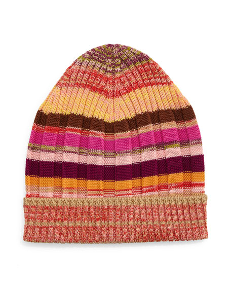 Space Dye Wool Hat Missoni FItD0
