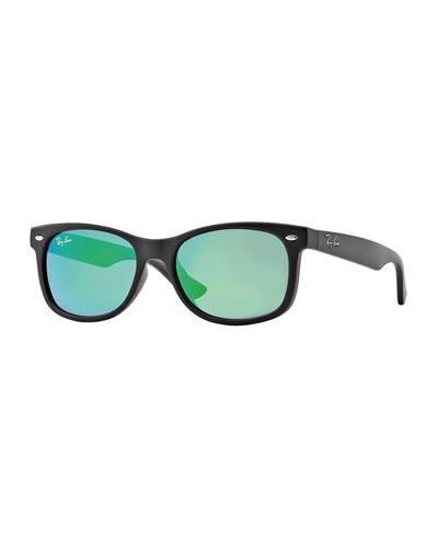 Children's Mirrored Wayfarer Sunglasses