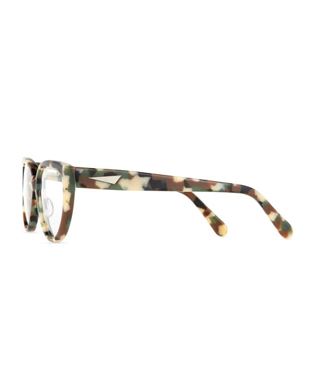 Cannes Cat-Eye Plastic Fashion Glasses