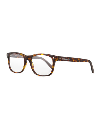 Square Optical Frames, Brown