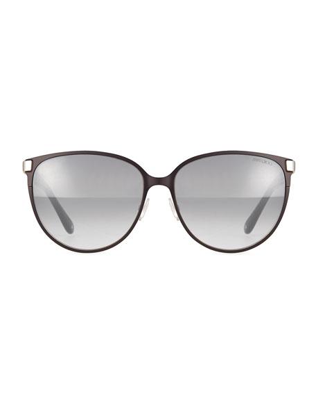 956e2f483 ... Glasses Cat S Eye Leopard Eyeglasses: Jimmy Choo Posie Leopard-Print  Metal Cat-Eye