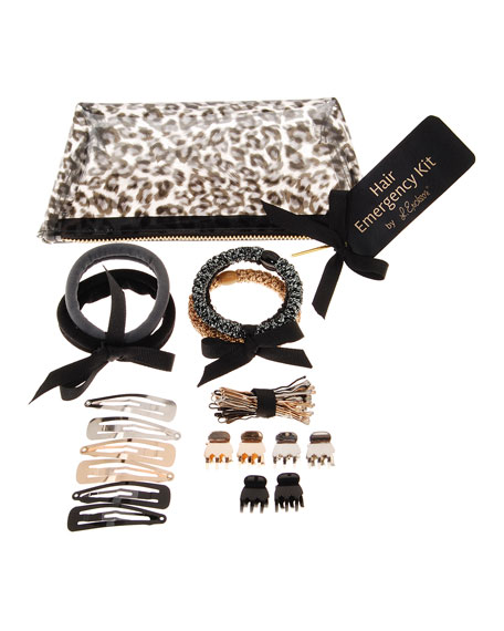 L. Erickson Hair Emergency Kit, Black Leopard