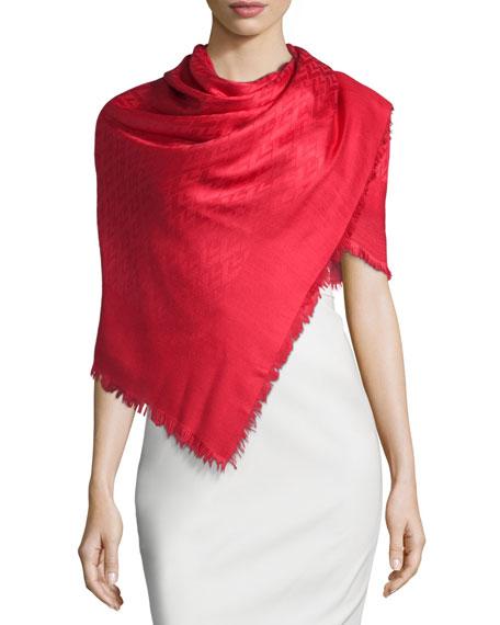Viva Valentino Silk-Blend Shawl
