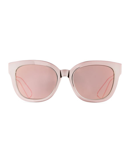 Diorama Caged Mirrored Sunglasses