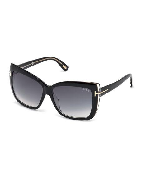 Irina Square Gradient Sunglasses