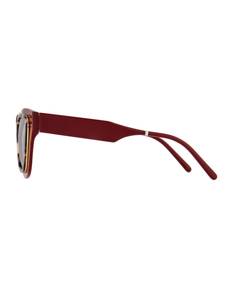 Sodapop IV Oversized Square Sunglasses