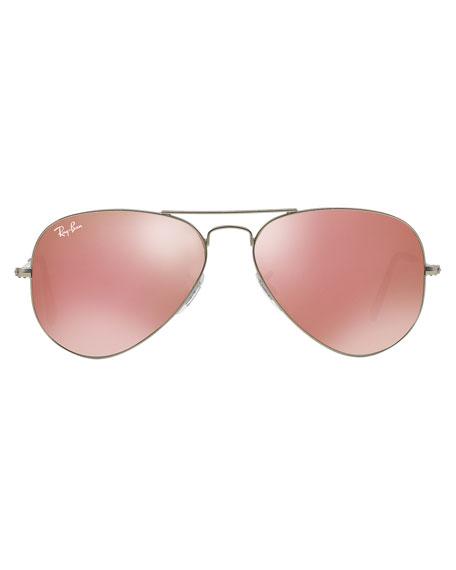 Standard Mirrored Aviator Sunglasses