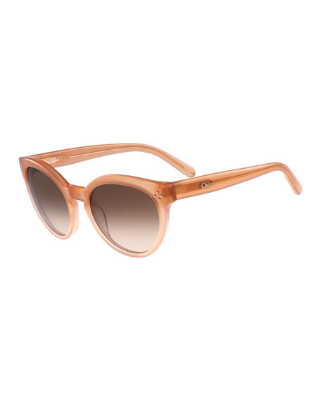 Round Cat-Eye Sunglasses