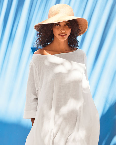 6fe8064887f6c Image 2 of 2  Eric Javits Hampton Squishee Packable Sun Hat