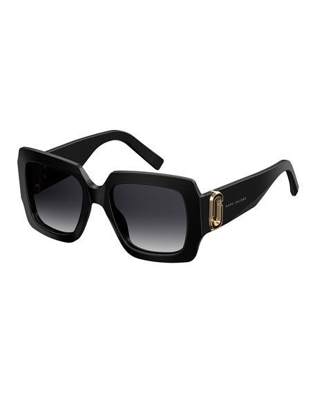 Chunky Square Acetate Sunglasses