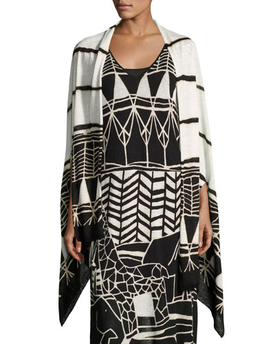 Wild Things Graphic-Print Shrug