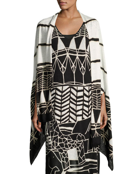 NIC+ZOE Wild Things Graphic-Print Shrug and Matching Items