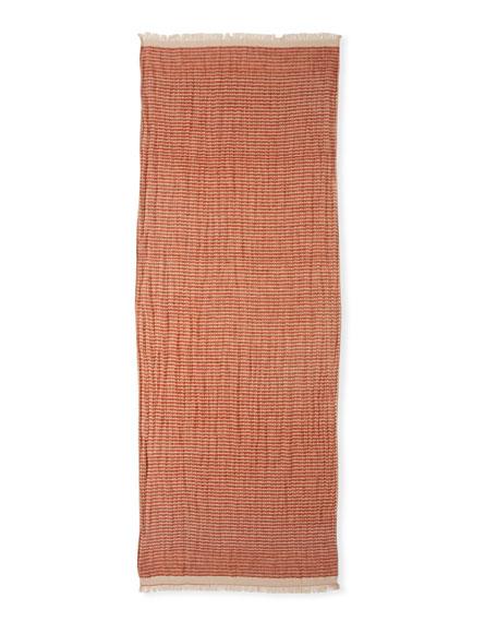 Organic Linen Diamond Weave Wrap