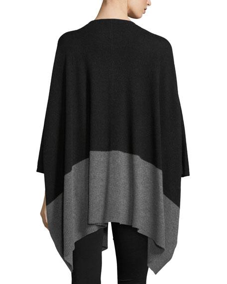 Colorblock Cashmere Kimono Cardigan