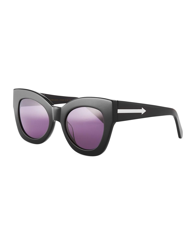 f960ec8d6f1 Karen Walker Northern Lights Cat-Eye Sunglasses