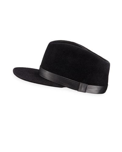 Double Agent Felt Military Hat