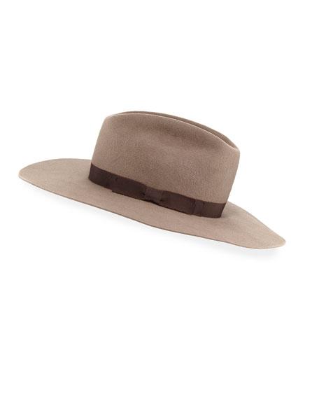 Gladys Tamez Patti Felt Panama Hat w/ Hat