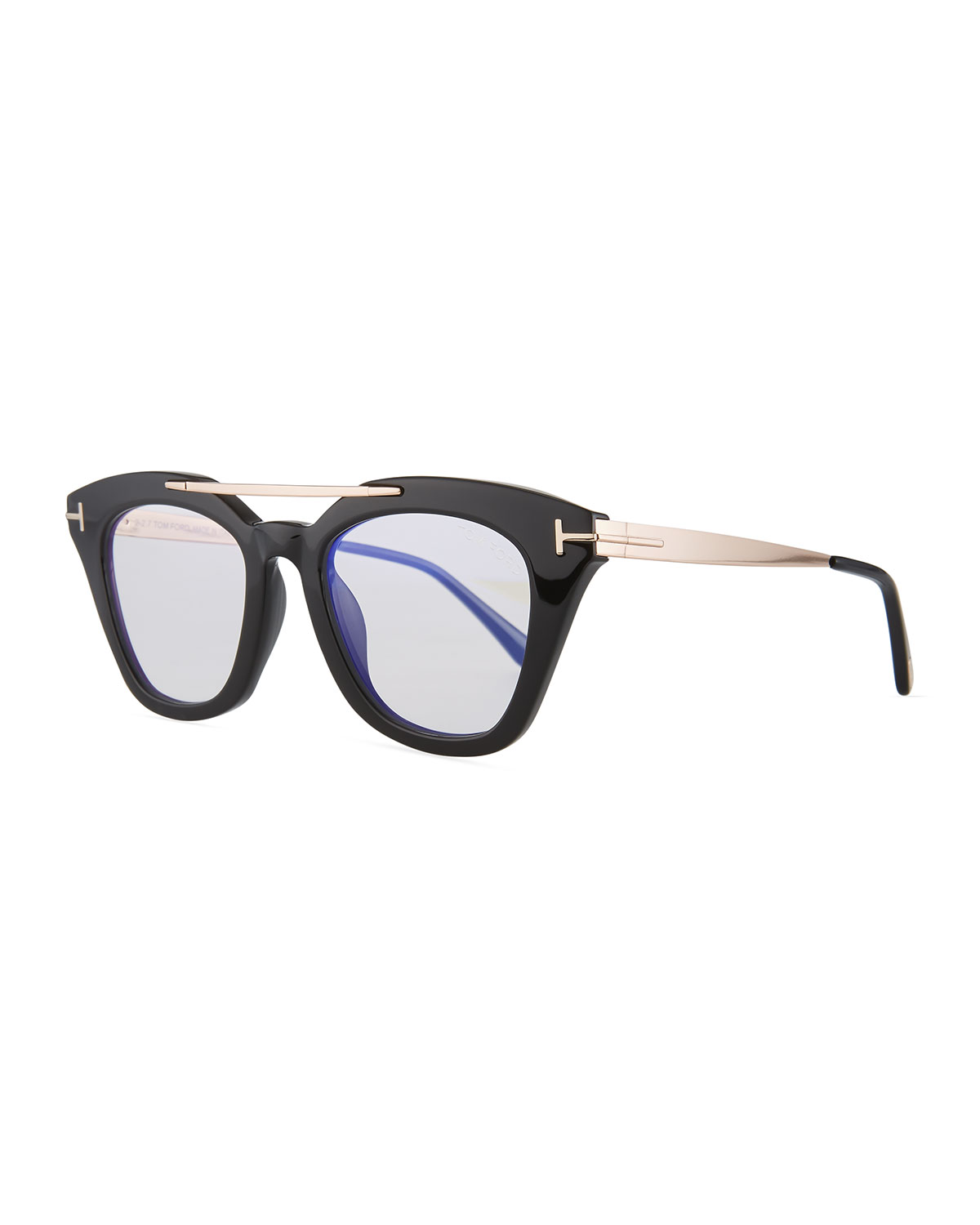 9b3371dbc1 Quick Look. TOM FORD · Anna Square Acetate Metal Sunglasses