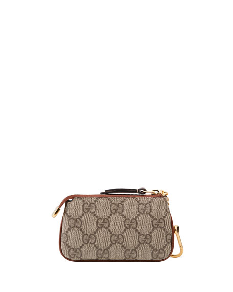 Gucci Linea A GG Supreme Key Case