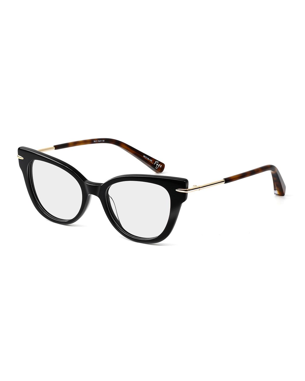 be04bbc134 Elizabeth   James Page Cat-Eye Acetate   Metal Optical Frames ...