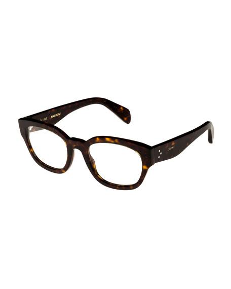 72357fecdd Celine Rectangle Acetate Optical Frames