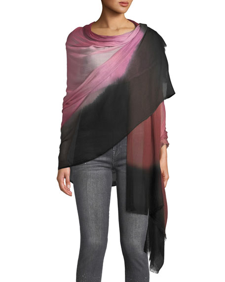 Image 3 of 3: Color Blend Modal-Silk Stole