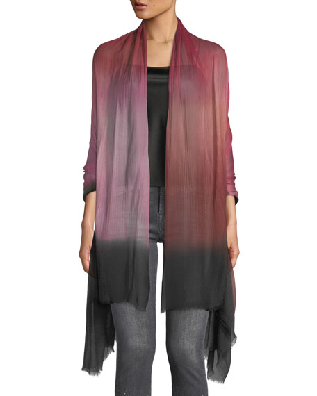 Image 1 of 3: Color Blend Modal-Silk Stole