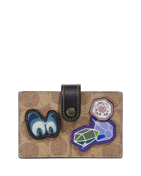 Coach 1941 DISNEY X COACH Canvas Patches Accordion