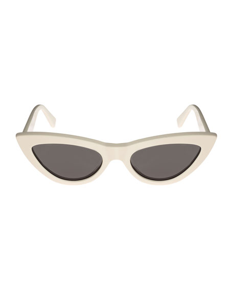 Exaggerated International-Fit Cat-Eye Sunglasses
