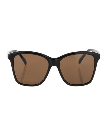 Givenchy Two-Tone Square Sunglasses