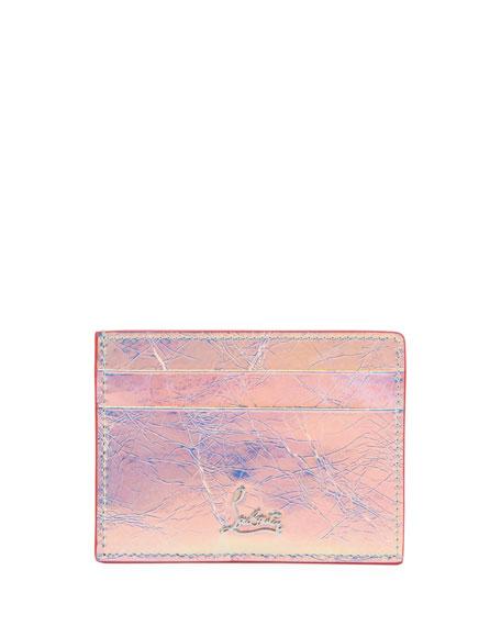 Christian Louboutin Kios Banquise Metal Loubi Card Case