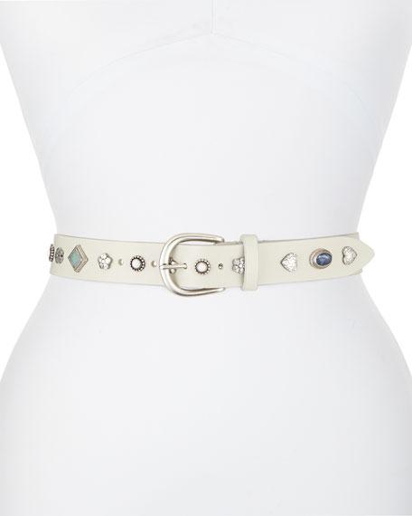 Etoile Isabel Marant Luke Studded Leather Belt