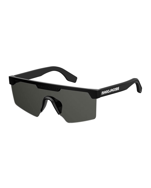 6f1b0a8db Marc Jacobs Semi-Rimless Shield Sunglasses | Neiman Marcus