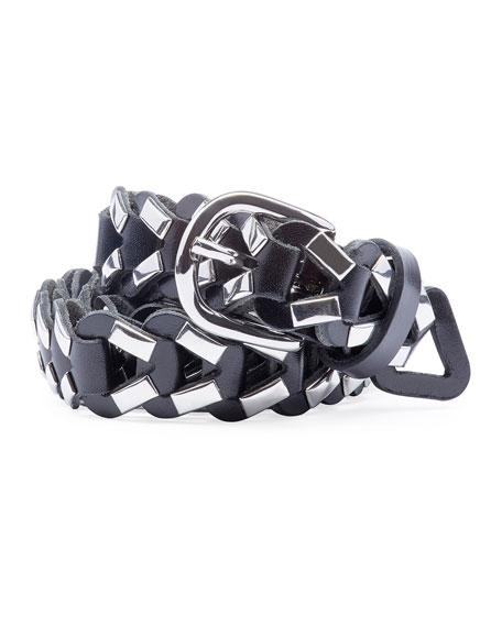 Isabel Marant Ketju Looped Leather Belt