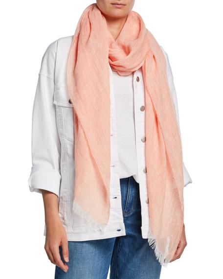 Eileen Fisher Cross Dye Organic Linen Wrap