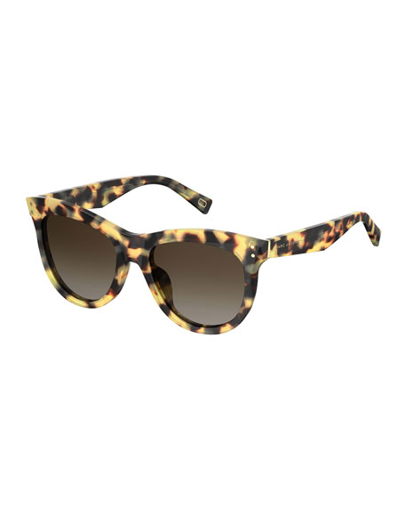 The Marc Jacobs Faceted Butterfly Sunglasses