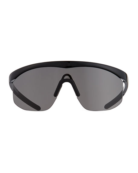 Image 2 of 3: Illesteva Managua Monochromatic Shield Sunglasses