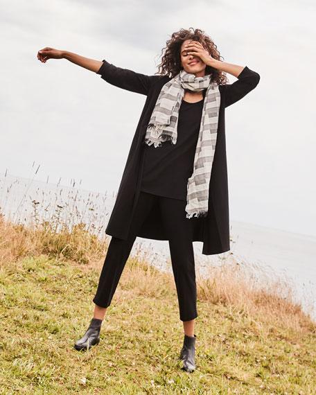 Eileen Fisher Modernist Wool/Organic Cotton Scarf